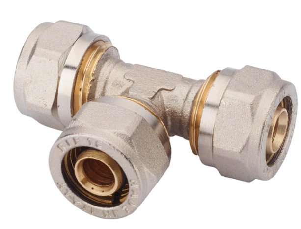 T pipe fitting multilayer